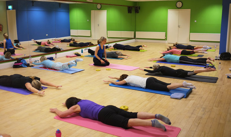 Teaching Pilates in Stamford